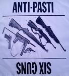 ANTI PASTI - Guns - Back Patch
